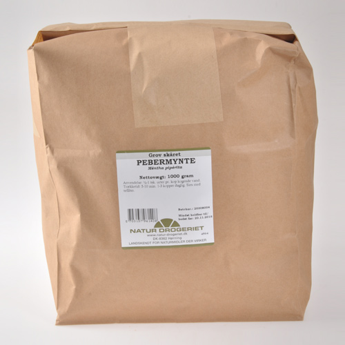 Image of   Pebermynte groft skåret Natur Drogeriet - 1 kg.