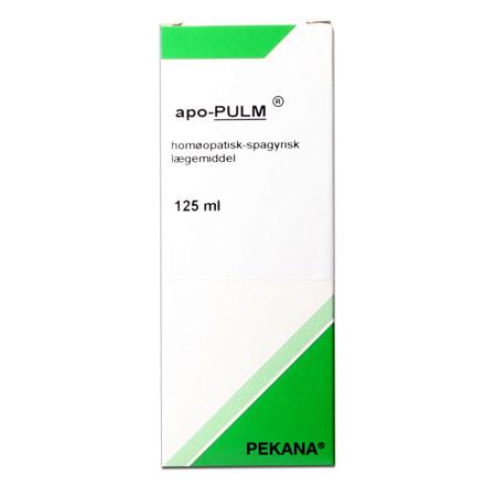 Apo pulm hostemixtur Pekana - 125 ml.