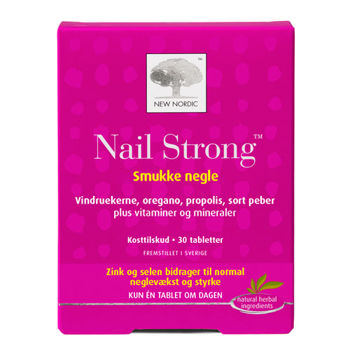 Nail Strong fra New Nordic - 30 tabletter