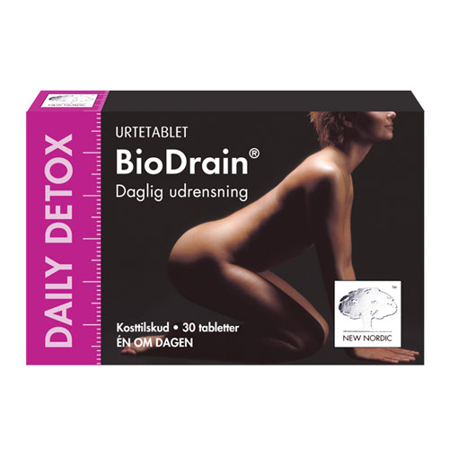 Image of   BioDrain Daily Detox - 30 tabletter