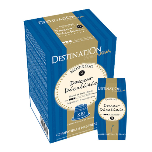 Kaffekapsler til Nespresso Arabica Koffeinfri 55 g