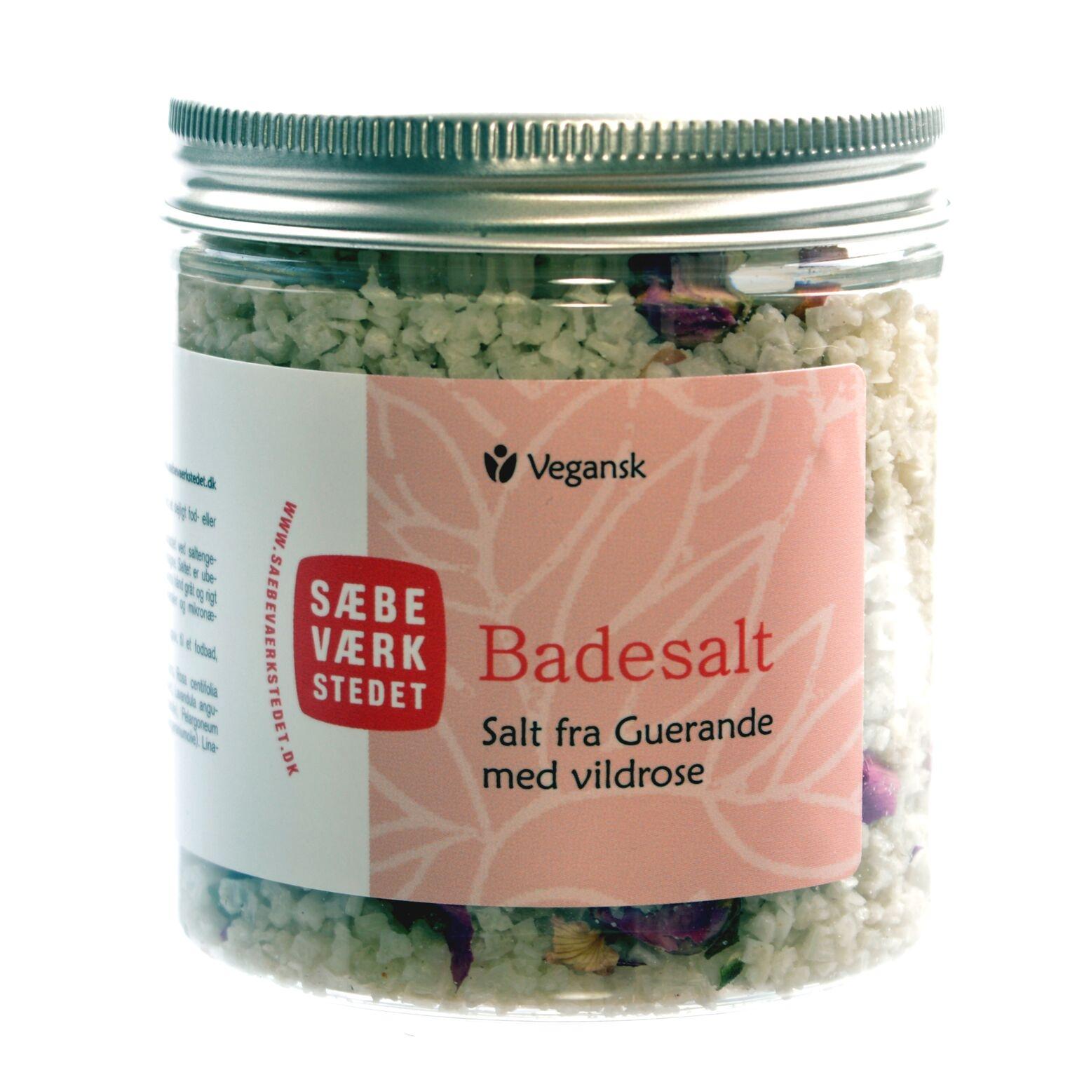 Image of Badesalt med Vildrose - 200 g