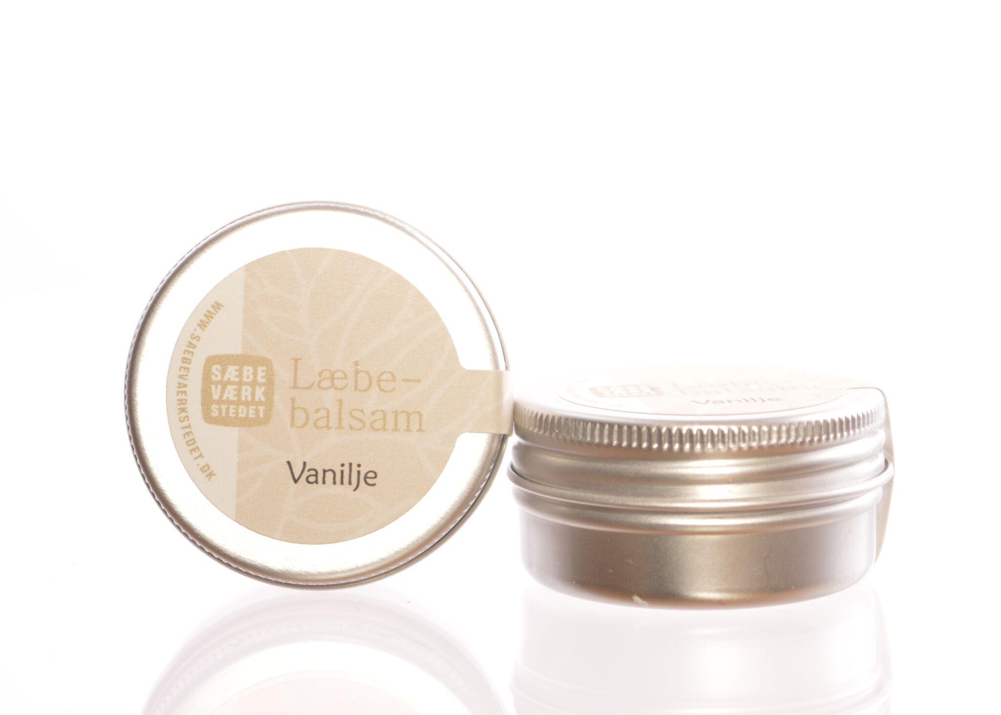 Læbebalsam med vanille - 14 g