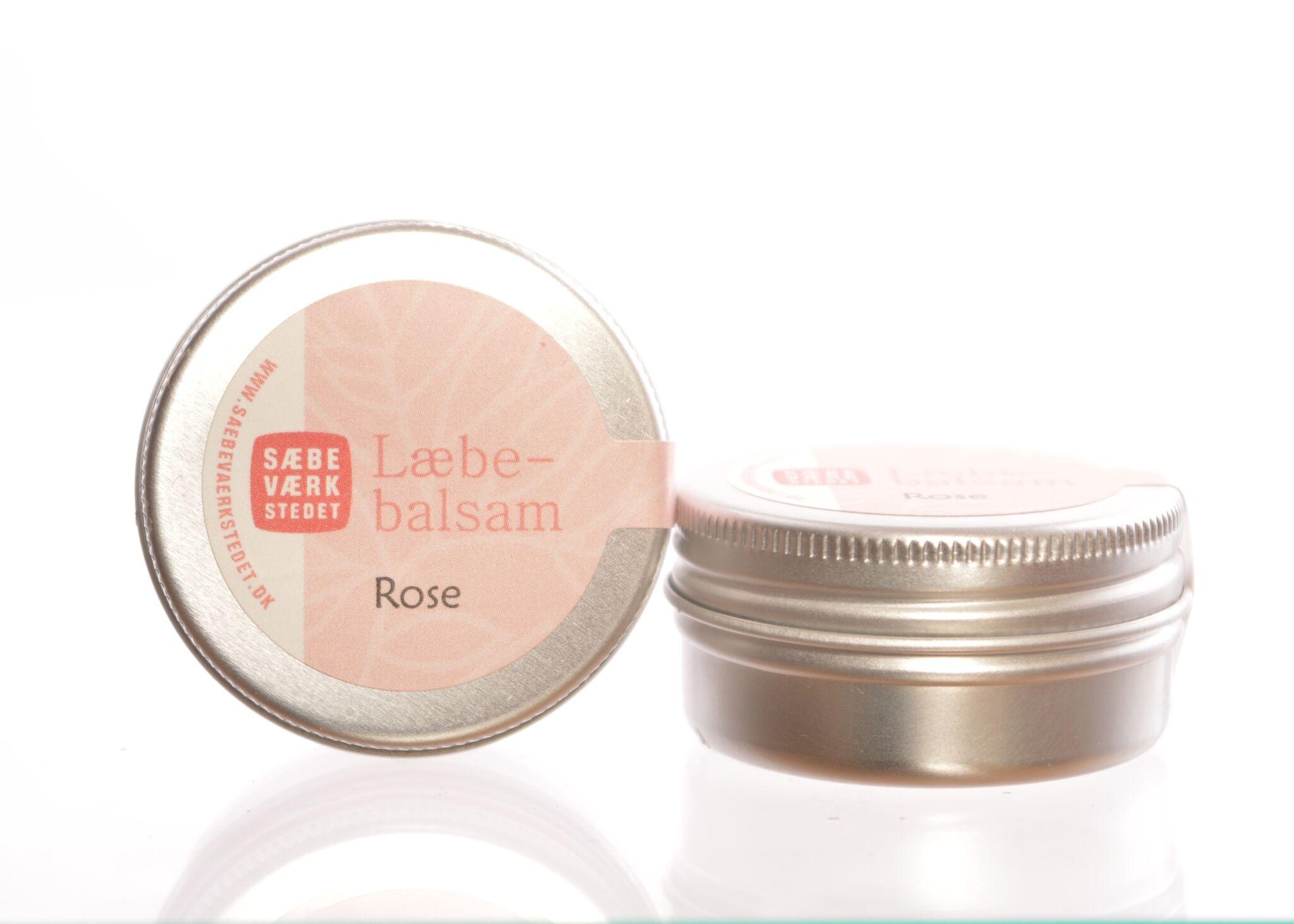 Læbebalsam med Rose - 14 g