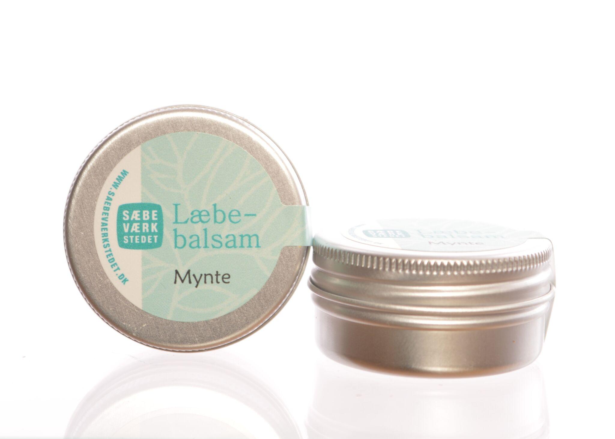 Læbebalsam med Mynte - 14 g