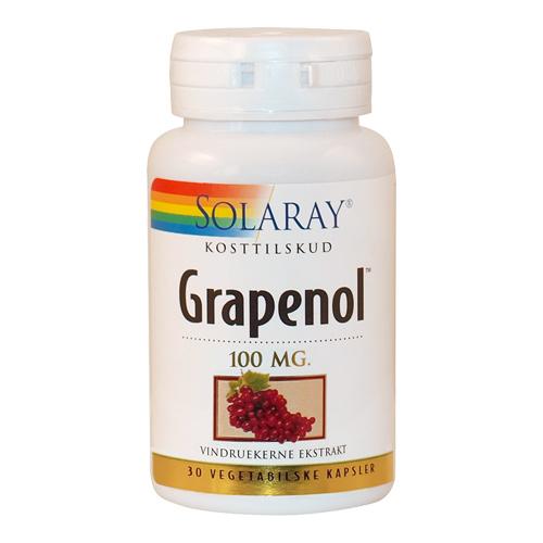 Grapenol 100 mg. - 30 kapsler