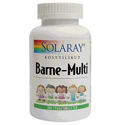 Image of Barne Multi Tyggetablet - 100 tabletter