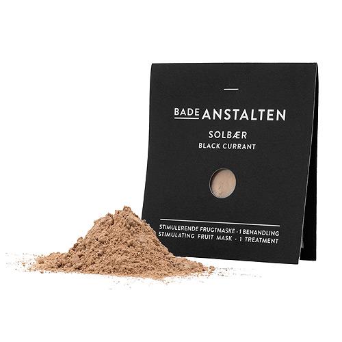 Image of   Ansigtsmaske solbær Badeanstalten - 15 ml.