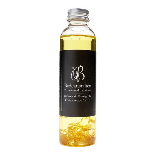 Badeolie forfriskende citron Badeanstalten 150 ml