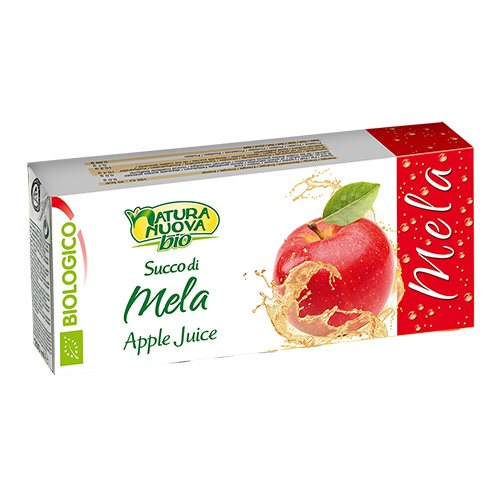 Image of Æblejuice brikker økologisk 3 x 200 ml