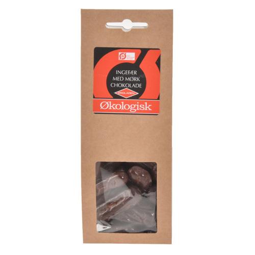 Image of Chokolade mørk ingefær Økologisk - 100 gram