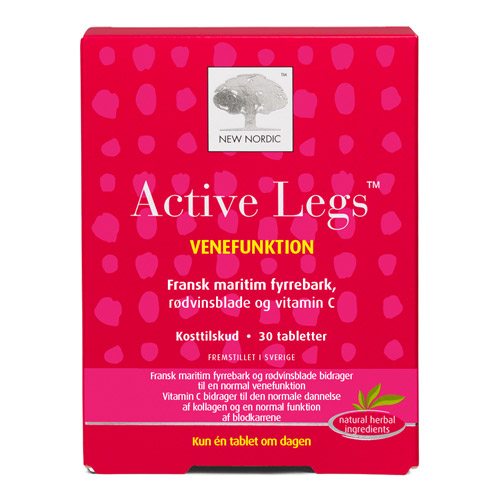 Image of   Active Legs fra New Nordic - 30 tabletter