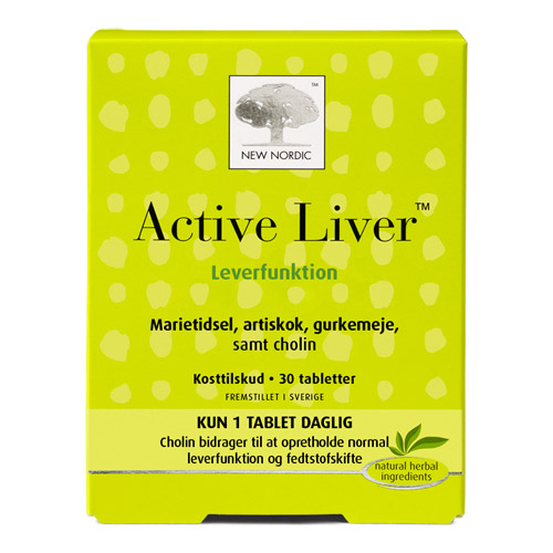 Image of   Active Liver - 30 tabletter