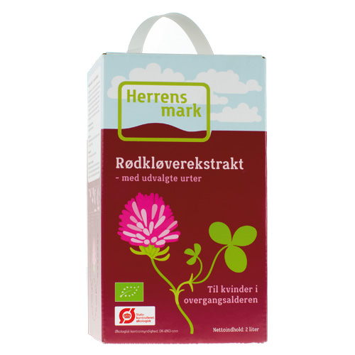 Image of Rødkløver ekstrakt Bag-in-box Økologisk - 2 liter