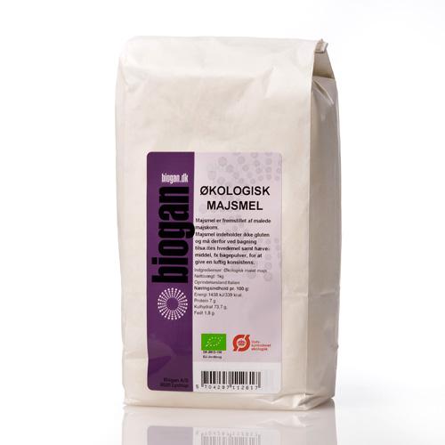 Majsmel økologisk fra Biogan 1 kilo
