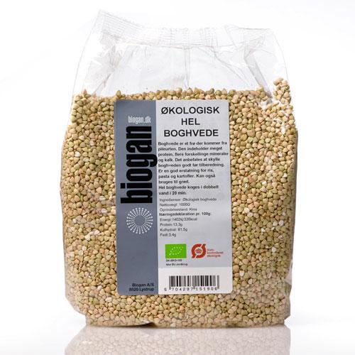 Image of Hel boghvede fra Biogan Økologisk - 1 kg.
