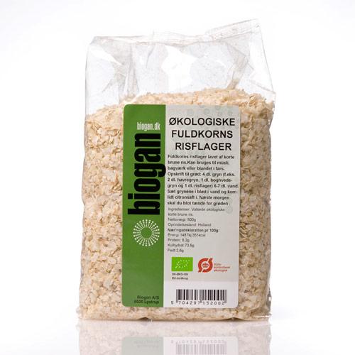 Risflager fra Biogan Økologisk - 500 gram