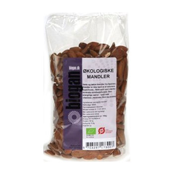 Mandler Økologiske fra Spanien - 500 gram