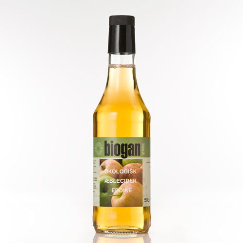 Æblecidereddike Økologisk fra Biogan - 500 ml.