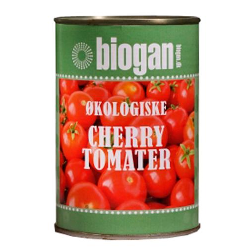 Image of   Cherrytomater i dåse fra Biogan Øko - 400 gram
