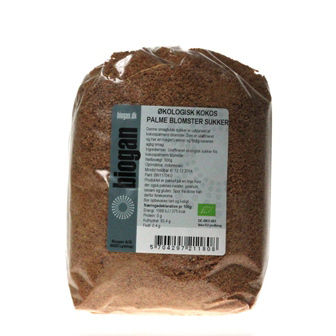 Image of Kokosblomstsukker fra Biogan Økologisk - 500 gram