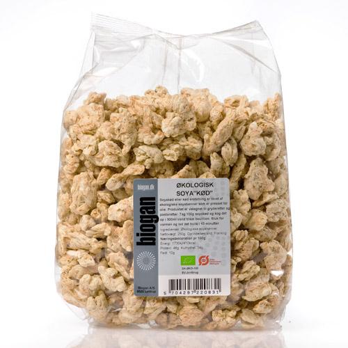 """Soya """"kød"""" økologisk fra Biogan - 250 gram"""