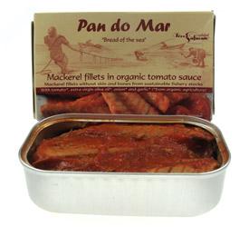 Image of   Makrel i økologisk tomatsovs- 120 gram