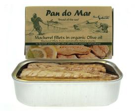 Image of   Makrel i økologisk olivenolie - 120 gram