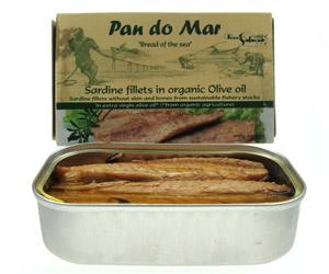 Image of   Sardiner i økologisk olivenolie - 120 gram