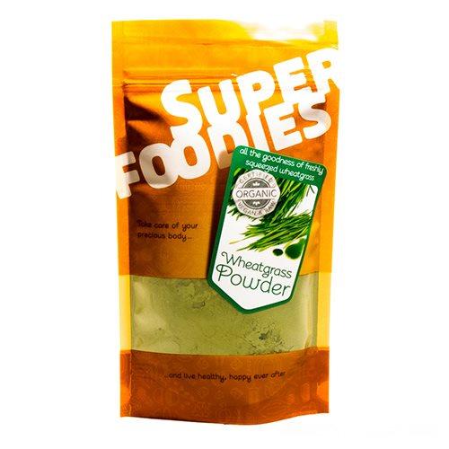 Wheatgrass pulver Økologisk - 100 gram