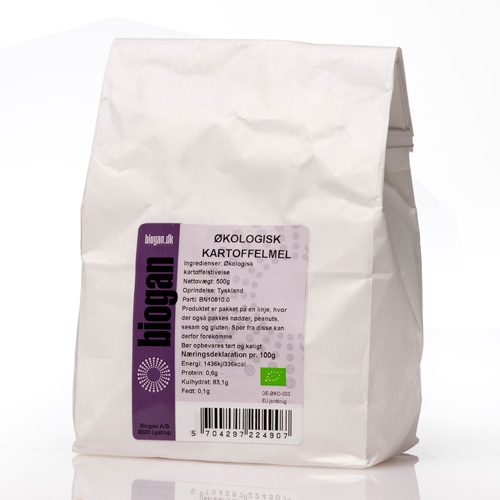 Image of Kartoffelmel økologisk - 500 g