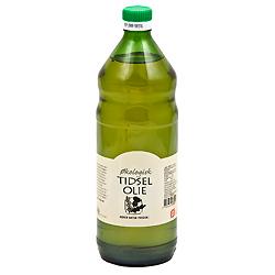 Tidselolie koldpresset økologisk - 500 ml.