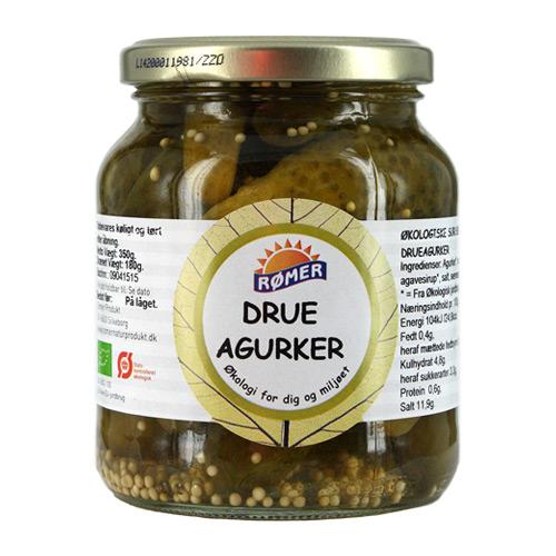 Image of   Drueagurker Økologiske - 370 ml.