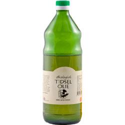 Image of Tidselolie koldpresset økologisk - 1 liter