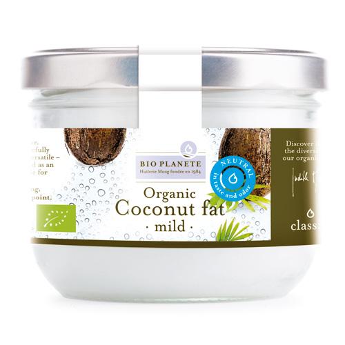 Kokosolie mild uden smag fra Biogan Øko - 400 ml.