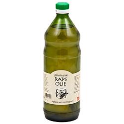 Image of Rapsolie koldpresset økologisk - 1 liter