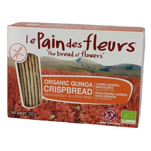 Knækbrød quinoa glutenfri Øko - 125 gr