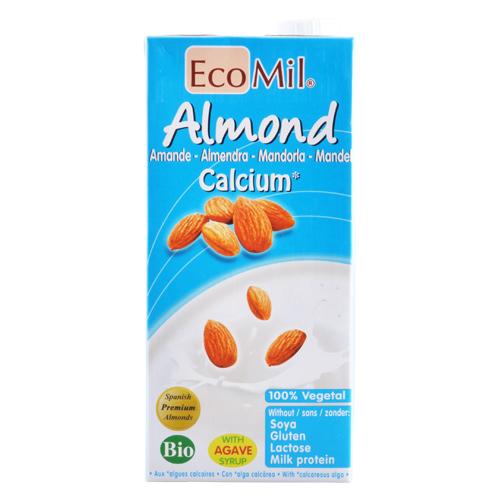 Image of Mandeldrik Øko med calcium fra Ecomil - 1 liter