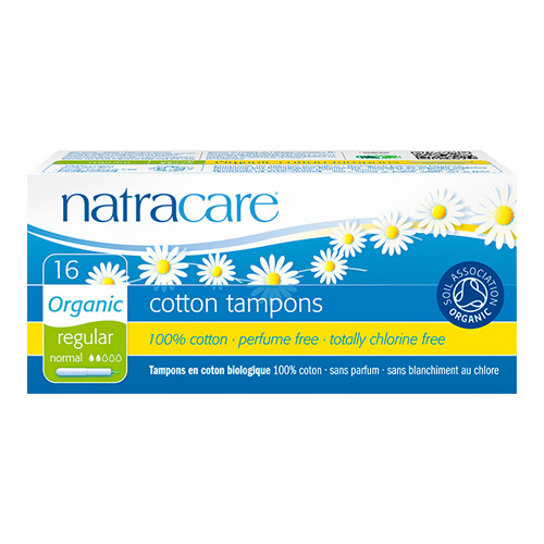 Natracare Tamponer Normal med hylster - 16 stk.