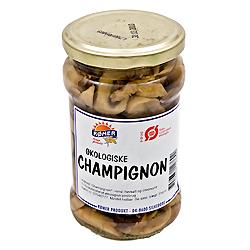 Image of   Champignon i glas økologisk - 280 gram