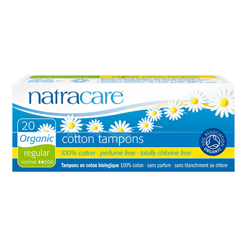 Natracare tampon regular - 20 stk.