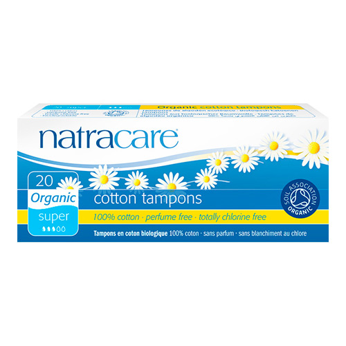 Natracare tampon Super - 20 stk.