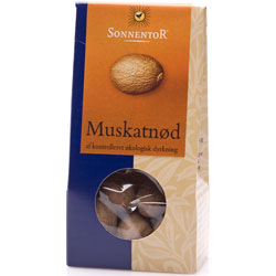 Muskatnød Økologisk - 25 gram