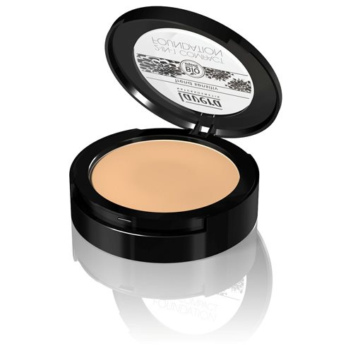Lavera 2 in 1 Compact foundation Honey 03 - 10 gr