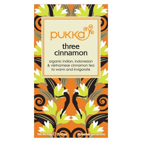 Pukka Three Cinnamon - 20 breve