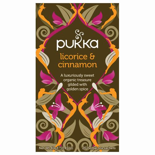 Pukka Licorice & Cinnamon Økologisk te - 20 breve