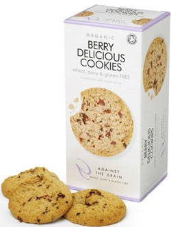 Image of   Berry Delicious cookies glutenfri Økologiske 150 g
