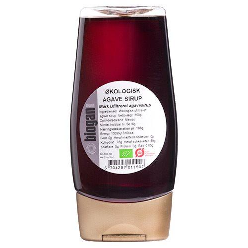 Image of   Agave sirup mørk Økologisk - 350 gram