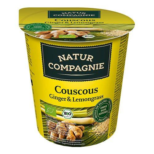 Image of Couscous Ingefær & Citrongræs Instant Øko - 68 gr