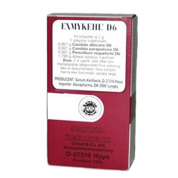 Image of   Exmykehl stikpiller D6 Sanum Kehlbeck - 10 stk.